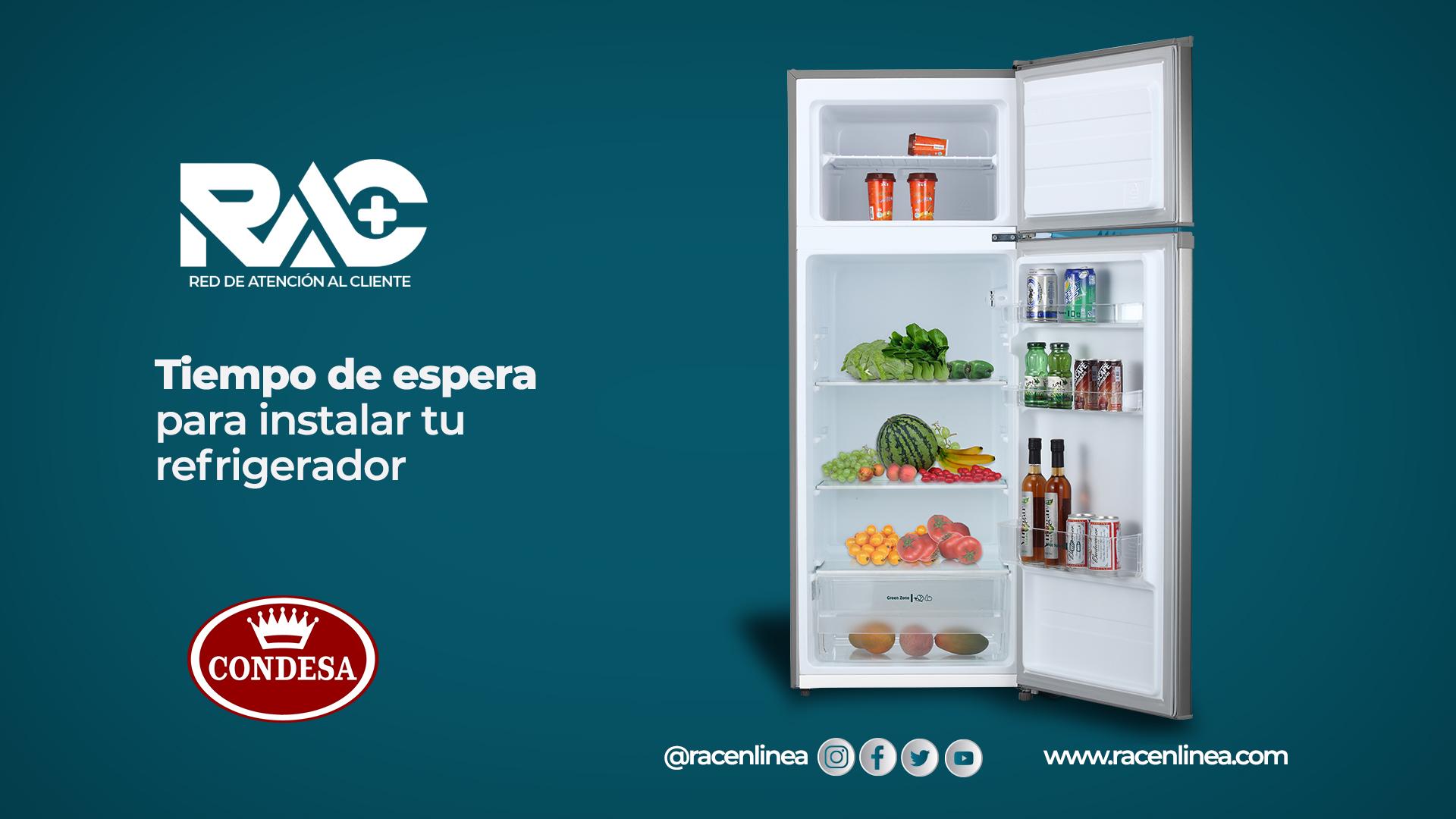 Instala correctamente tu Refrigerador Condesa
