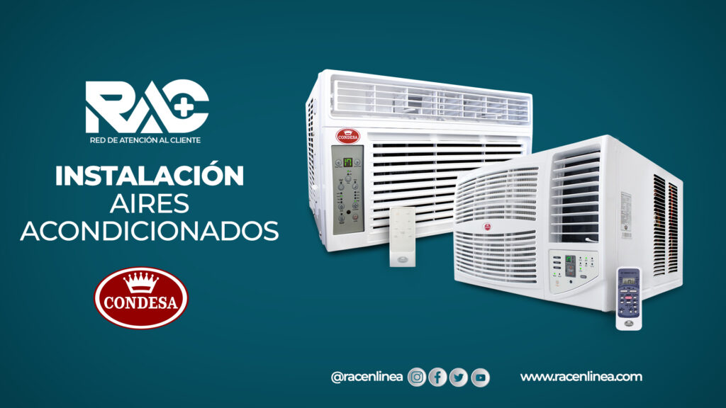Instalación de Aires Acondicionados Condesa