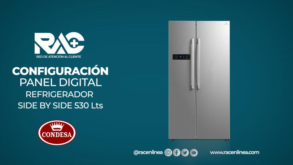 Ajuste de panel digital Side by Side Condesa